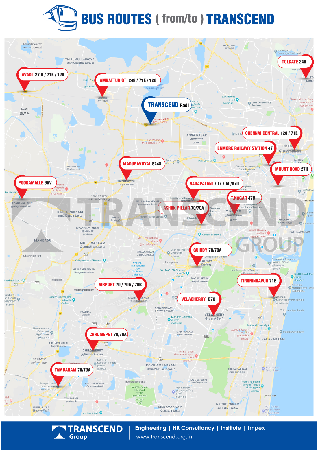 Transcend HR Consultancy Recruitment Agency in Chennai - Recruitment Consultants in Chennai India
