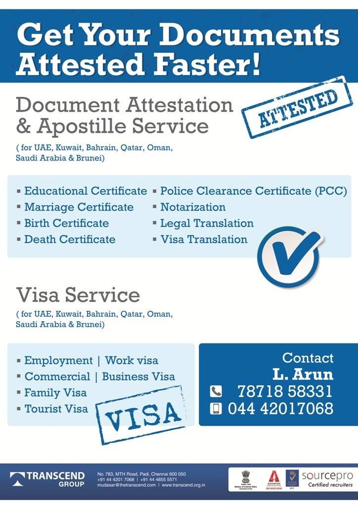 Document Attestation Service
