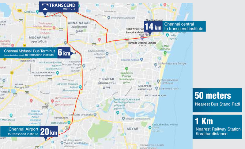 Transcend HR Consultancy Map Location